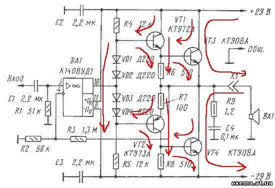 Tda8588aj схема подключения