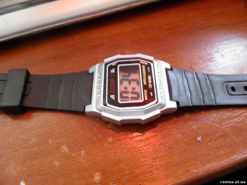 обычные китайские часы,