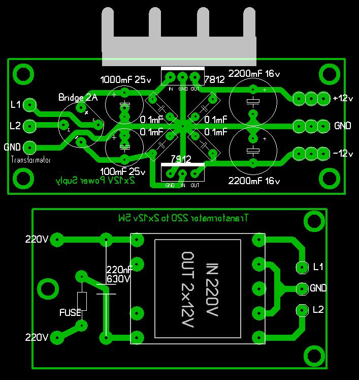 схеме на LM3915,