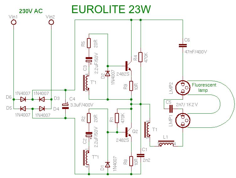 Schema EUROLITE 23W