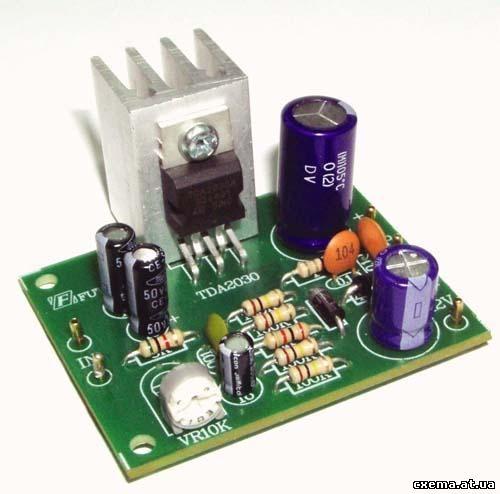 Hi-Fi усилитель мощности на